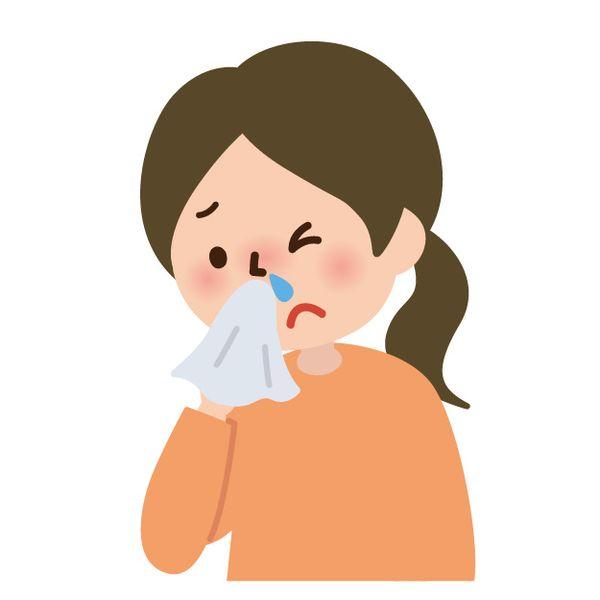 風邪で鼻水