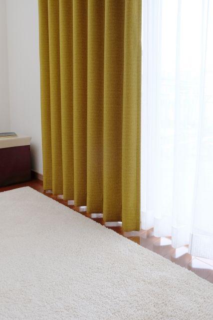 新品のカーテン