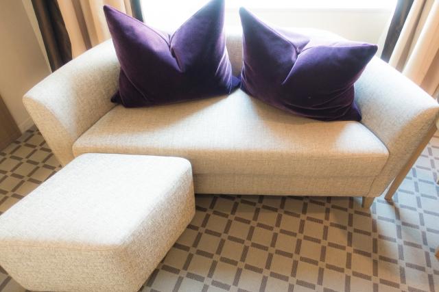 新品のソファー