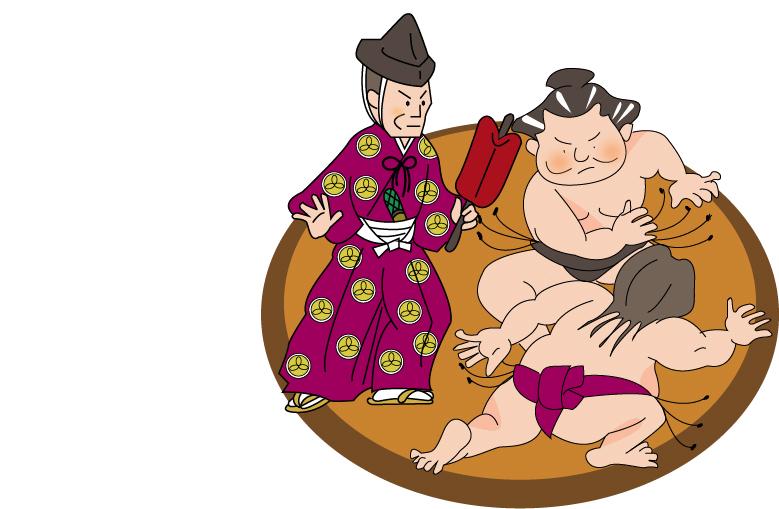 相撲で負ける