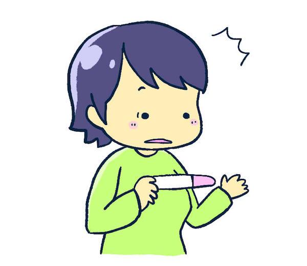 妊娠検査薬を使う