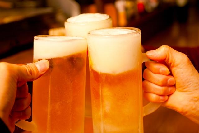 ビールの泡
