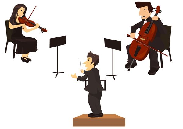 指揮者が演奏をよくする