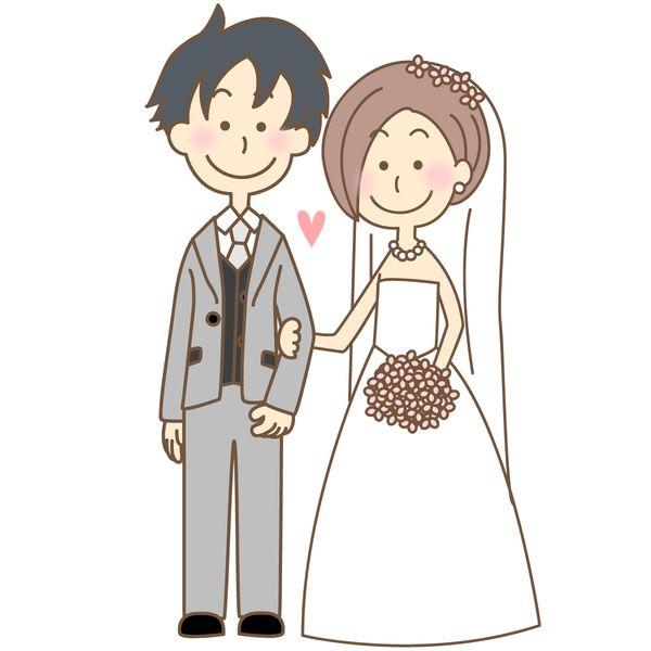 恋人と結婚式をする
