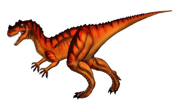 恐竜が現れる