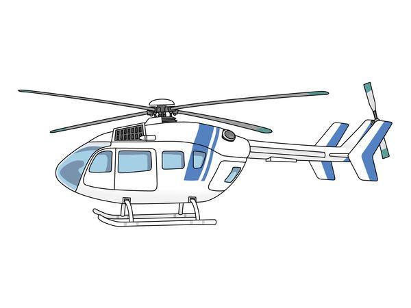 自分がヘリコプターで救助される
