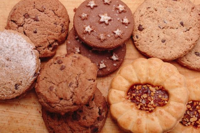 クッキーがたくさん出てくる