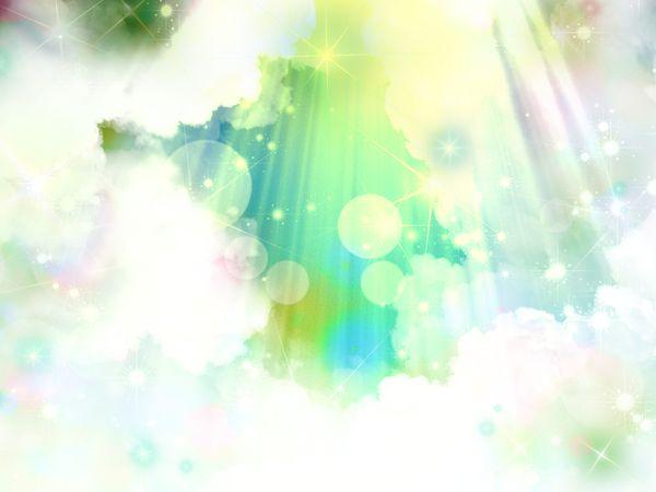 神様が自分に光を当てる