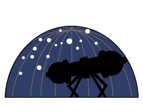 プラネタリウムで星座を見る