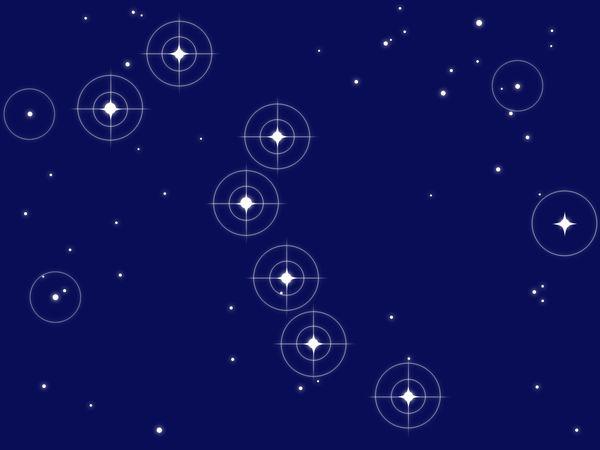 北斗七星・北極星