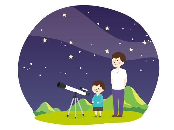 星座を見つける