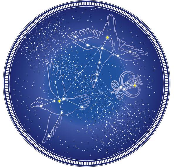 有名な星座を見る