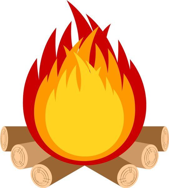 山が火事になる