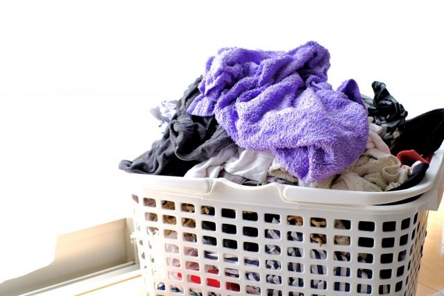 タオルを洗濯する