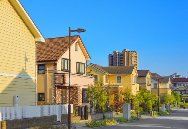 高級な住宅街