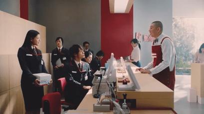 JP日本郵政グループCMの男優と女優は誰?ライバルの名前も!