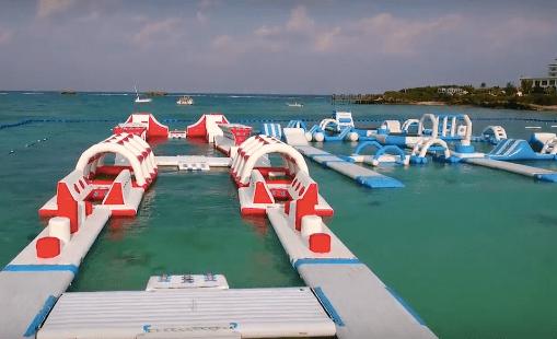 海忍者エリアが恩納村万座ビーチに!(動画)2017子供連れ沖縄観光ランキング上位必至!