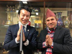 松本市役所都市交流課とnamaste