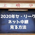 【2020年プロ野球】セ・リーグのネット中継を見る方法【無料あり】
