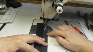 布ループの平縫い
