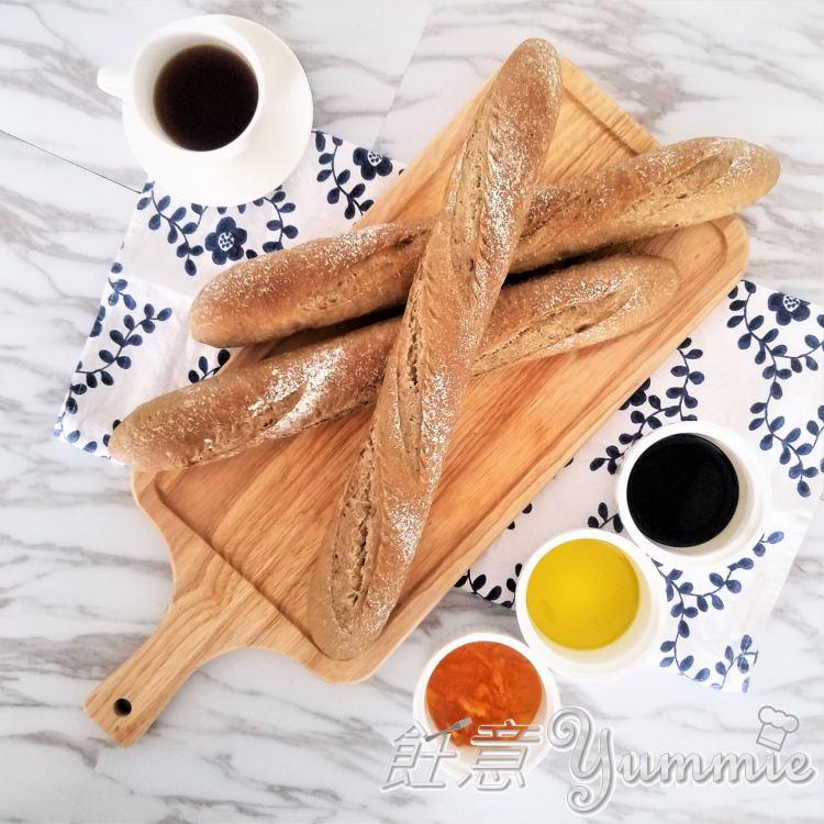 法式長棍麵包 (水合法)