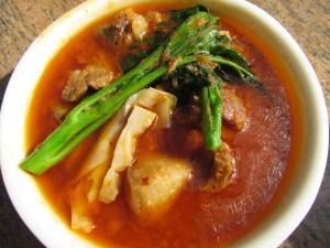 pork bamboo shoot