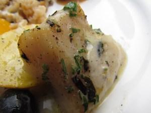 Thyme flavored Basa fish