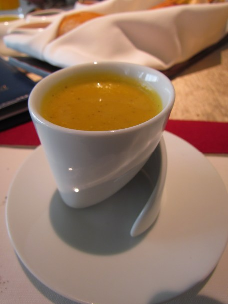 Pumpkin soup - exceeded all expectations