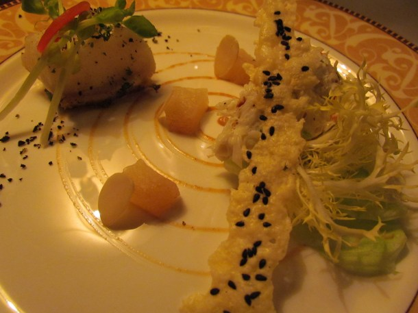 cornish crabmeat & seabass