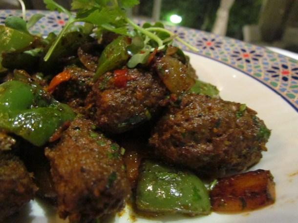 Homemade lamb sausage' Merguez