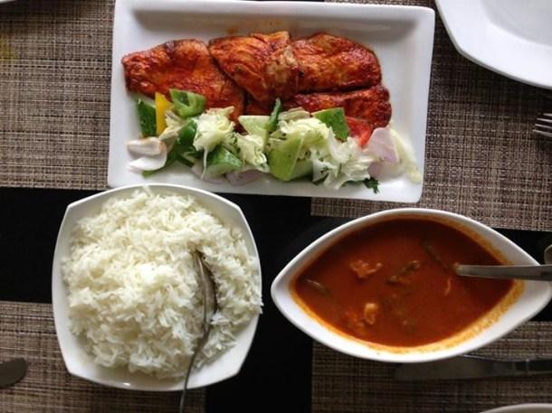 pan fried fish, goan fish curry