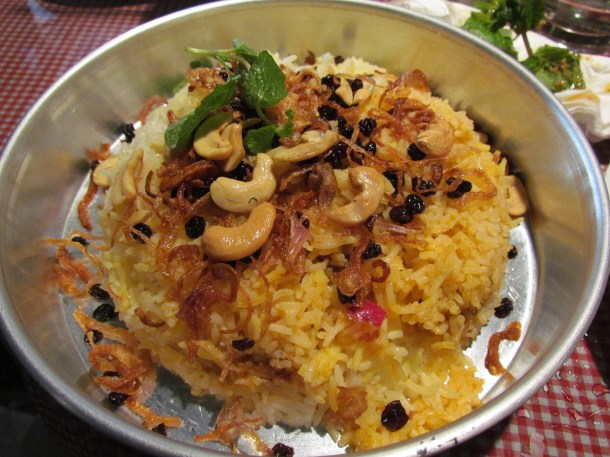 'Mutton Berry pulao