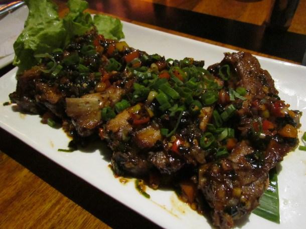 Garlic Pepper tossed ribs