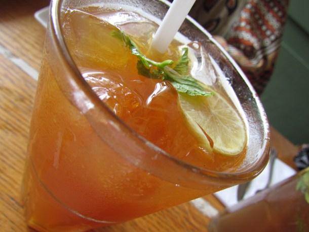 Amici Spremuta lemon mint soda