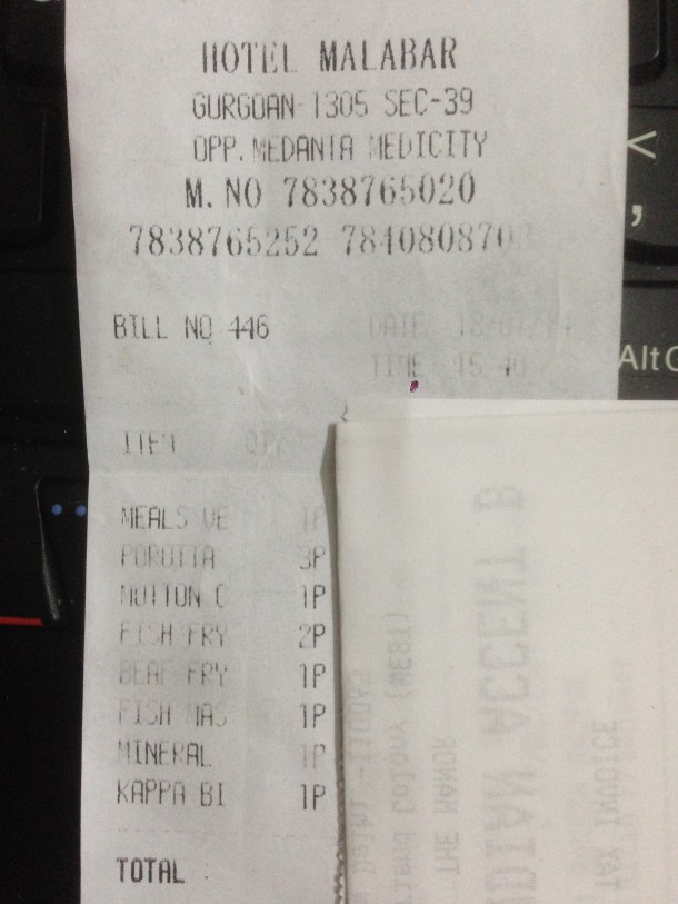 our bill