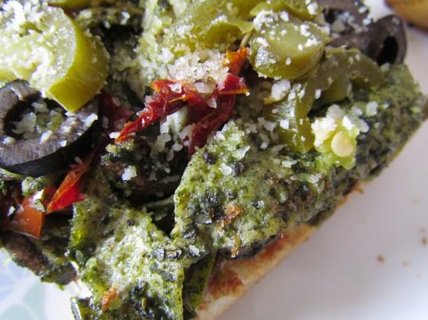 Linguine style Omelet