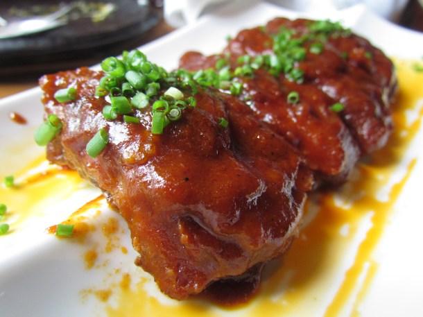Rishta reduction pork ribs