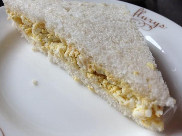 Heritage tea sandwiches – egg & mustard