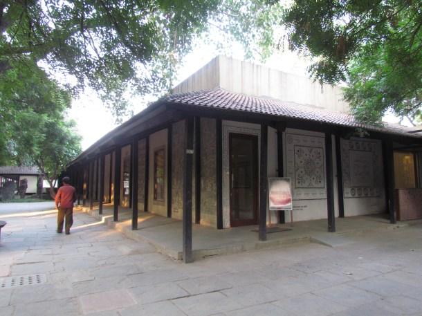 A view of the Crafts museum near its entrance.