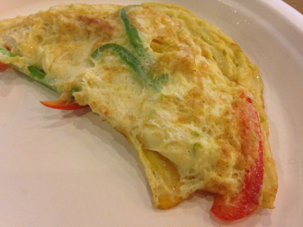 Twisted Omelet