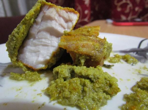 Patrani macchi / paatra fish - cross section