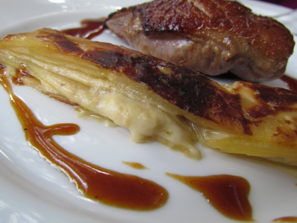 gratin with organic Duck breast
