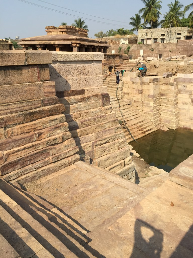 baoli (stepwell) in the Aihole temple campus