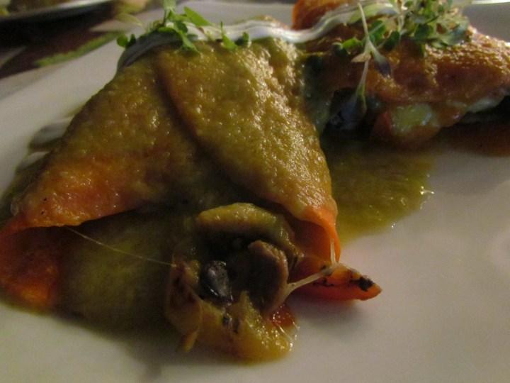 Enchiladas de pato