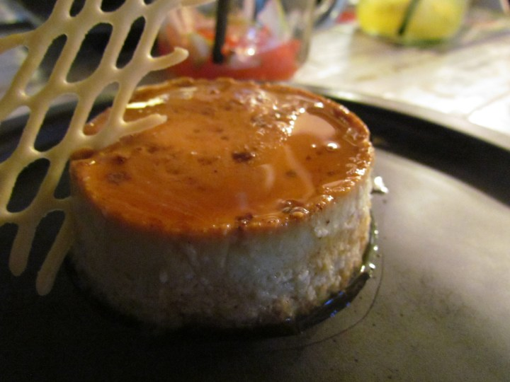 Classic Mexican flan