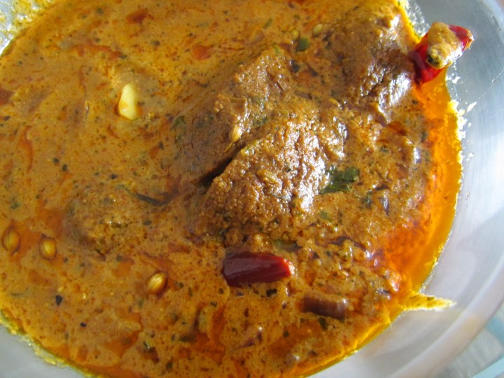 Gatte curry