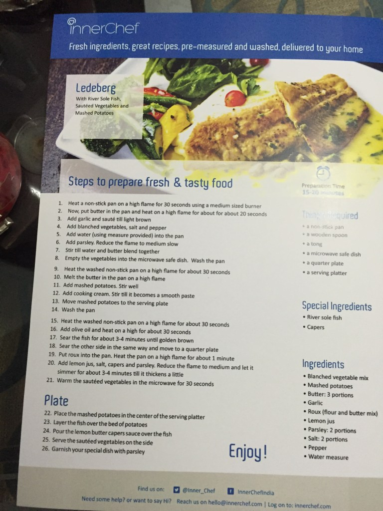 recipe print out