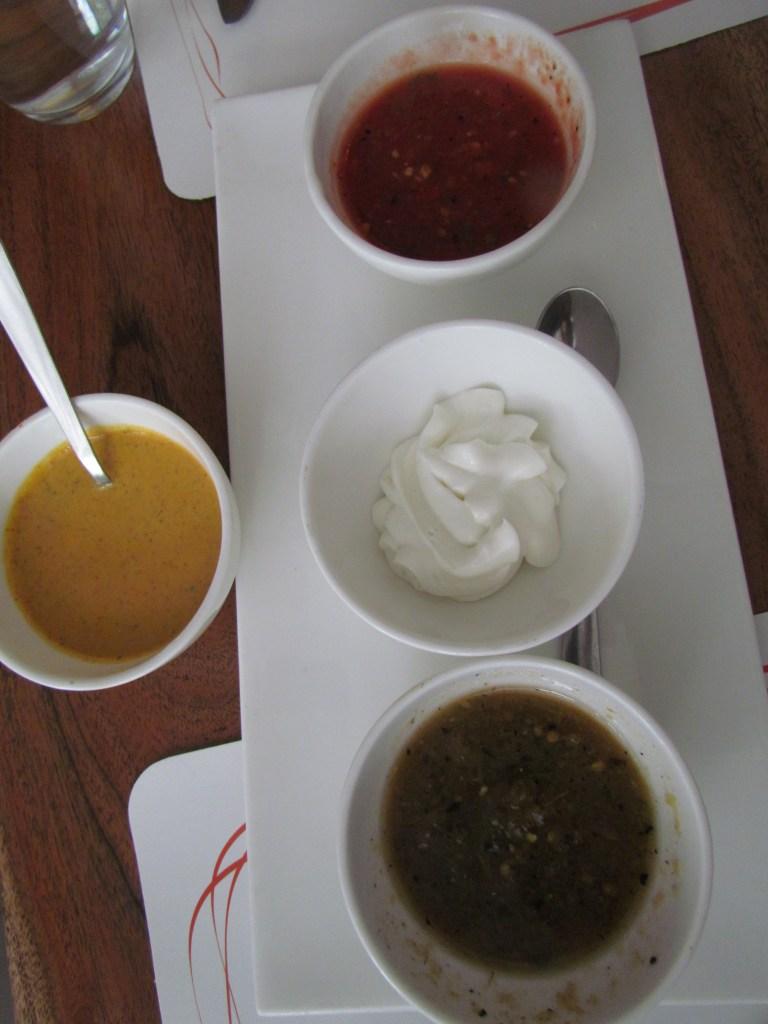 platter of dips