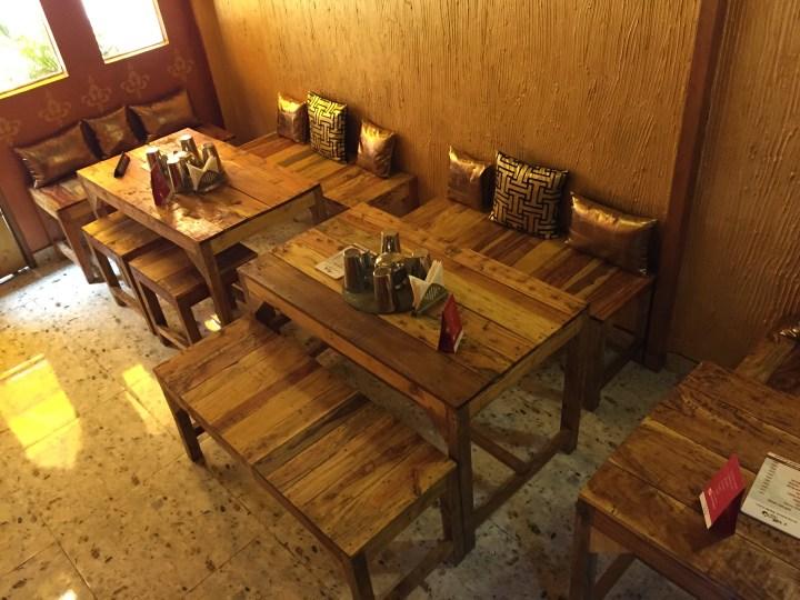 inside the restaurant - ground floor