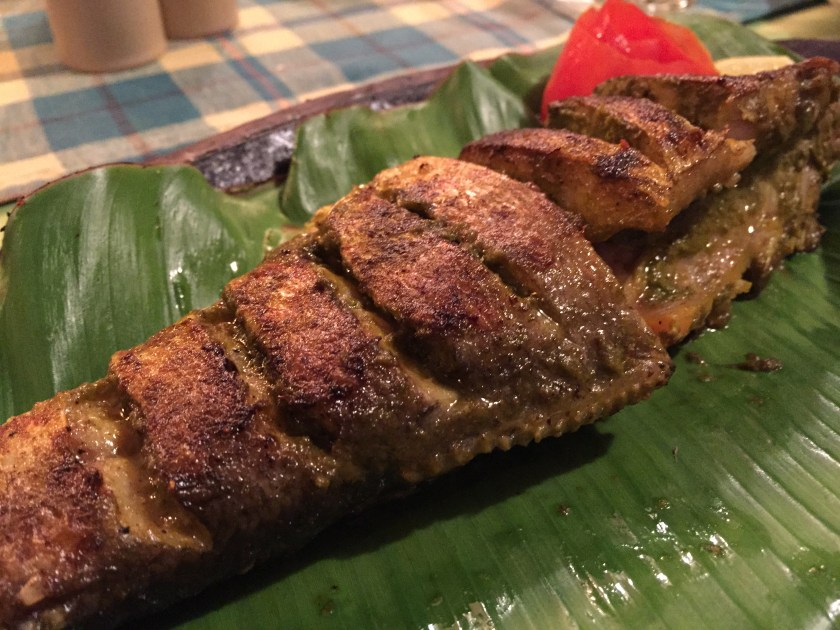 Baby Rawas - grilled